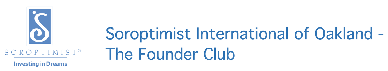 SOROPTIMIST INTERNATIONAL OF OAKLAND - THE FOUNDER CLUB